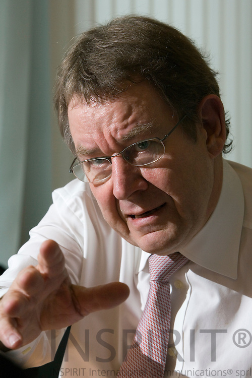 BRUSSELS - BELGIUM - 26 JUNE 2007 -- MEP Poul Nyrup RASMUSSEN, President of the Socialist Group in the European Parliament (PES).  Photo: Erik Luntang