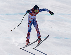 February 17, 2018 - PyeongChang, South Korea - BARBARA KANTOROVA of Slovakia during Alpine Skiing: Ladies Super-G at Jeongseon Alpine Centre at the 2018 Pyeongchang Winter Olympic Games. (Credit Image: © Patrice Lapointe via ZUMA Wire)