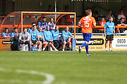 The Forest Green bench during the Vanarama National League match between Braintree Town and Forest Green Rovers at the Amlin Stadium, Braintree, United Kingdom on 24 September 2016. Photo by Shane Healey.