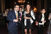 ANDREI NAVROKOV; ALINA NIZROVA, Celebration of the  200TH Anniversary of the  Birth of Rt.Hon. John Bright MP  and the publication of <br /> &Ocirc;John Bright: Statesman, Orator, Agitator&Otilde; by Bill Cash MP. Reform Club. London. 14 November 2011. <br /> <br />  , -DO NOT ARCHIVE-&copy; Copyright Photograph by Dafydd Jones. 248 Clapham Rd. London SW9 0PZ. Tel 0207 820 0771. www.dafjones.com.<br /> ANDREI NAVROKOV; ALINA NIZROVA, Celebration of the  200TH Anniversary of the  Birth of Rt.Hon. John Bright MP  and the publication of <br /> &lsquo;John Bright: Statesman, Orator, Agitator&rsquo; by Bill Cash MP. Reform Club. London. 14 November 2011. <br /> <br />  , -DO NOT ARCHIVE-&copy; Copyright Photograph by Dafydd Jones. 248 Clapham Rd. London SW9 0PZ. Tel 0207 820 0771. www.dafjones.com.