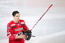 12.02.2016, Olympiaworld, Innsbruck, AUT, Euro Ice Hockey Challenge, Österreich vs Slowakei, im Bild Daniel Woger (AUT) // Daniel Woger of Austria during the Euro Icehockey Challenge Match between Austria and Slovakia at the Olympiaworld in Innsbruck, Austria on 2016/02/12. EXPA Pictures © 2016, PhotoCredit: EXPA/ Jakob Gruber