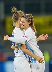 05.10.2016, Merkur Arena, Graz, AUT, CHL, SK Sturm Graz Damen vs FC Zuerich Frauen, Sechzehntelfinale, Hinspiel, im Bild Barla Deplazes (Zuerich), Lesley Ramseier (Zuerich) // during the Round of 32, 1st Leg of the UEFA Womens Champions League between SK Sturm Graz Women and FC Zuerich Women at the Merkur Arena, Graz, Austria on 2016/10/05, EXPA Pictures © 2016, PhotoCredit: EXPA/ Dominik Angerer