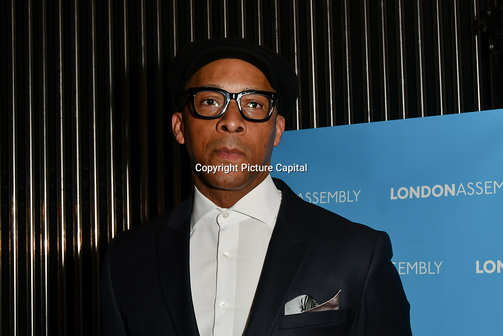 Jay Blades attend Awareness gala hosted by the Health Committee with live music and poetry performances at City Hall at The Queen's Walk, London, UK. 18 March 2019.