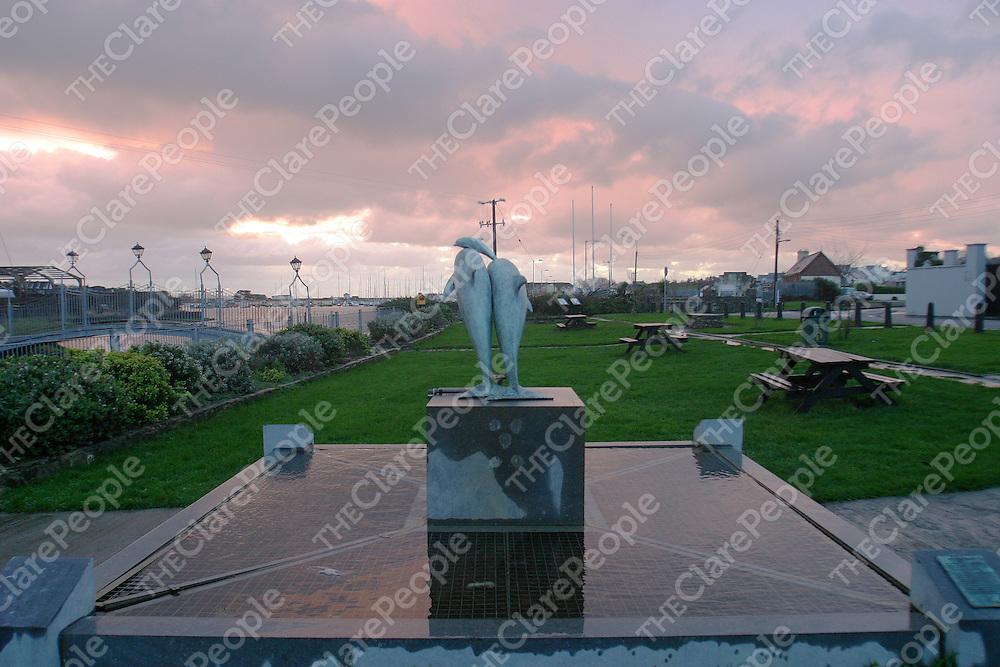 02/12/2005<br />A peaceful sight at Kilrush marina.<br />Picture. Cathal Noonan/Press22.