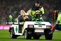 Rugby Union - 2017 Guinness Series (Autumn Internationals) - Ireland vs. South Africa<br /> <br /> South Africa's Coenie Oosthuizen leaves the pitch injured at the Aviva Stadium.<br /> <br /> COLORSPORT/KEN SUTTON