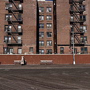 Russian buildings in Brooklyn Beach.