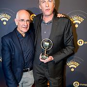 NLD/Hilversum/20180125 - Gouden RadioRing Gala 2017, Frits Spits en Adam Curry