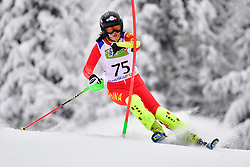 GUO Jiaxin, LW6/8-2, CHN, Women's Slalom at the WPAS_2019 Alpine Skiing World Championships, Kranjska Gora, Slovenia