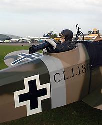 German Junker CL1, 1917, Rear Gunner, The Great War, 1914-18 Aircraft, , The Duxford Air Show, 14th September 2014