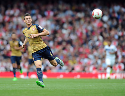 Laurent Koscielny of Arsenal  - Mandatory by-line: Joe Meredith/JMP - 25/07/2015 - SPORT - FOOTBALL - London,England - Emirates Stadium - Arsenal v Lyon - Emirates Cup