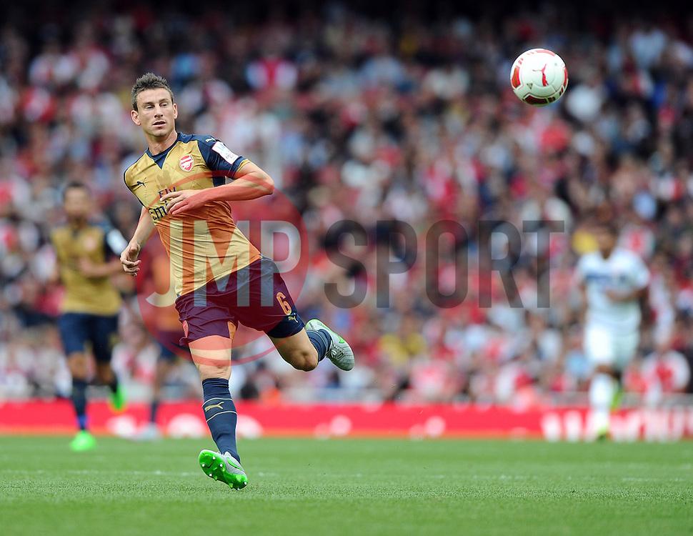 Laurent Koscielny of Arsenal  - Mandatory by-line: Joe Meredith/JMP - 25/07/2015 - SPORT - FOOTBALL - London,England - Emirates Stadium - Arsenal v Lyon - Emirates Cup