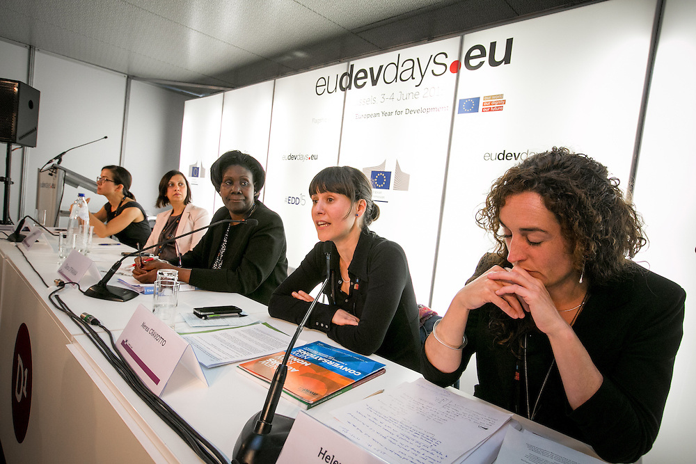 03 June 2015 - Belgium - Brussels - European Development Days - EDD - Gender - Women's empowerment - Key lessons for financing and measuring gender equality © European Union