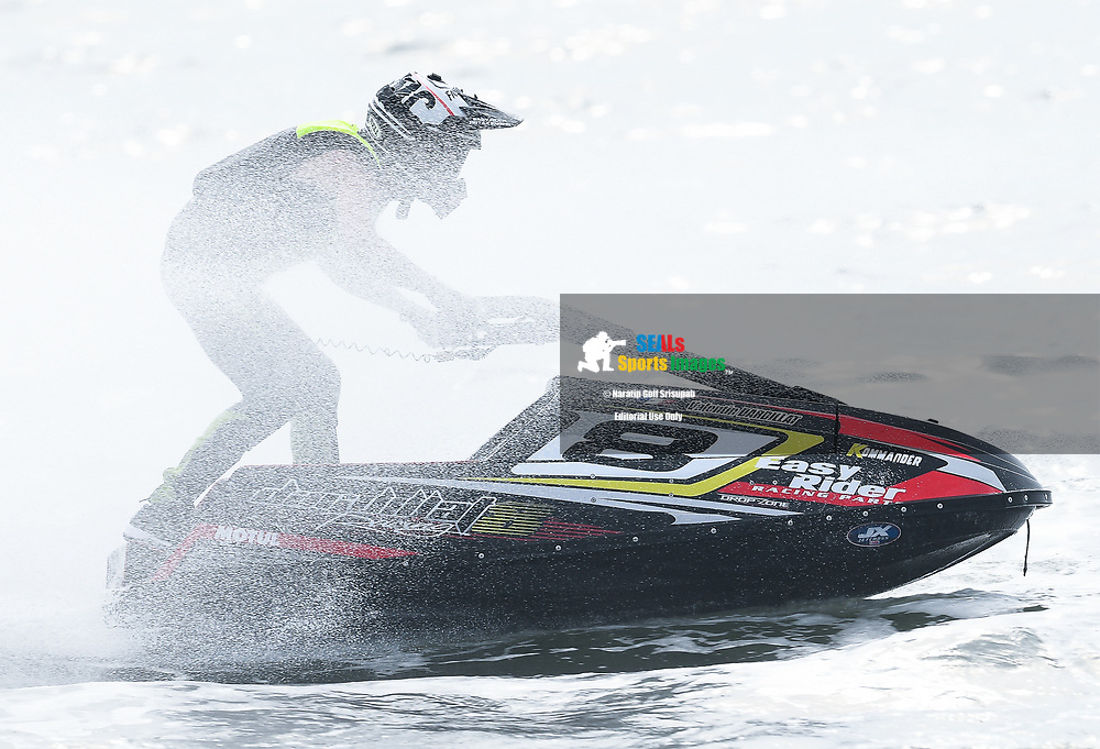 PATTAYA, THAILAND - DECEMBER 09: Valentin Dardillat (8) of France and Dardillat 8 Racing in action during the Pro Ski Grandprix Moto4 at the Thai Airways International Jet Ski World Cup 2018, Jomtien Beach, Pattaya, Thailand on December 09, 2018. <br /> .<br /> .<br /> .<br /> (Photo by: Naratip Golf Srisupab/SEALs Sports Images)<br /> .<br /> Any image use must include a mandatory credit line adjacent to the content which should read: Naratip Golf Srisupab/SEALs Sports Images