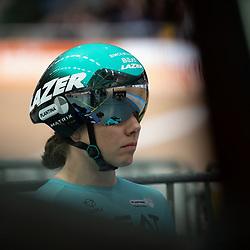 28-12-2019: Wielrennen: NK Baan: Alkmaar<br />Laurine van Riessen concetratie