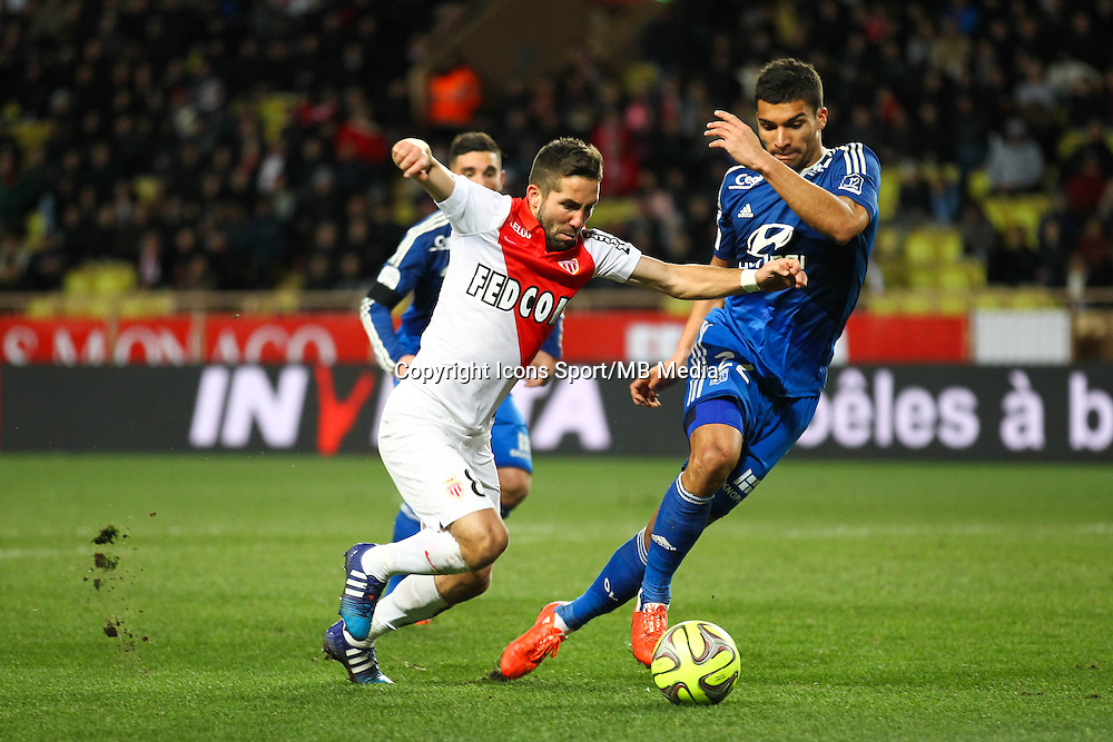 Joao MOUTINHO / Lindsay ROSE - 01.02.2015 - Monaco / Lyon - 23eme journee de Ligue 1 -<br />