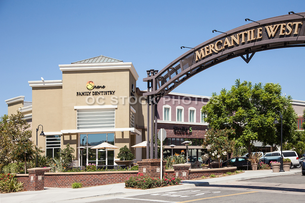 Mercantile West Shopping Center in Ladera Ranch