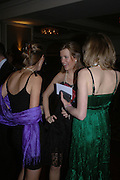Harriet Wright, Zaza Wilson and Charlotte Dinkel, White Knights Ball, Grosvenor House. Park Lane. London. 6  January 2006. ONE TIME USE ONLY - DO NOT ARCHIVE  © Copyright Photograph by Dafydd Jones 66 Stockwell Park Rd. London SW9 0DA Tel 020 7733 0108 www.dafjones.com
