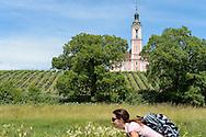 Wallfahrtskirche Birnau. Lac de Constance, Bade-Wurtemberg, Allemagne.