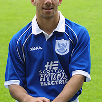 St Johnstone FC photocall season 2001/02<br />Rachid Djebaili<br /><br /><br />Picture by Graeme Hart.<br />Copyright Perthshire Picture Agency<br />Tel: 01738 623350  Mobile: 07990 594431