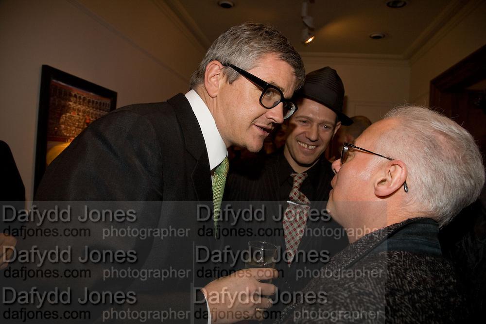 JAY JOPLING, PAUL SIMONON AND BERNARD RHODES, Paul Simonon  *** Local Caption *** -DO NOT ARCHIVE-© Copyright Photograph by Dafydd Jones. 248 Clapham Rd. London SW9 0PZ. Tel 0207 820 0771. www.dafjones.com.