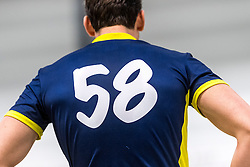 14-01-2017 NED: PDK Huizen - Inter Rijswijk, Huizen<br /> Prima Donna Kaas verliest met 3-2 van Rijswijk / item shirt 58 rugnummers