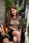 MARIA STOLIARENKO, Afternoon tea to  celebrate the addition of the Naked Heart Dessert to Russian restaurant Mari Vanna's menu,  Mari Vanna, 116 Knightsbridge, London, SW1X 7PJ. August 29 2012.
