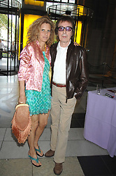 BILL & SUZANNE WYMAN at a private view of 'The Story of The Supremes' from the Mary Wilson collection at the V&A museum, Cromwell Road, London on 12th May 2008.<br /><br />NON EXCLUSIVE - WORLD RIGHTS