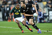 All Blacks Ben Smith during the Rugby Championship match between the New Zealand All Blacks & South Africa at Westpac Stadium, Wellington on Saturday 27th July 2019. Copyright Photo: Grant Down / www.Photosport.nz