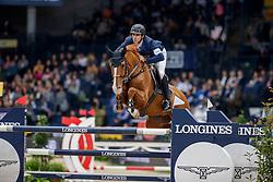 GUERDAT Steve (SUI), Victorio Des Frotards<br /> Stuttgart - German Masters 2019<br /> Preis der Firma GEZE GmbH<br /> Int. Springprüfung mit Siegerrunde (1.50 m)<br /> CSI5*-W, Wertungsprüfung für LONGINES Ranking<br /> 16. November 2019<br /> © www.sportfotos-lafrentz.de/Stefan Lafrentz