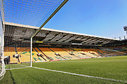 A general view of the stadium before the EFL Sky Bet Championship match between Norwich City and Sheffield Wednesday at Carrow Road, Norwich, England on 19 April 2019.