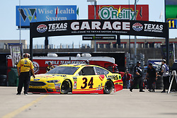 November 2, 2018 - Ft. Worth, Texas, United States of America - Michael McDowell (34) takes to the track to practice for the AAA Texas 500 at Texas Motor Speedway in Ft. Worth, Texas. (Credit Image: © Justin R. Noe Asp Inc/ASP via ZUMA Wire)