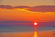 Sunrise on Caraquet Bay, Caraquet, New Brunswick, Canada