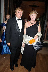 MR & MRS GUY HANDS he is the financier and the current CEO of the private equity firm Terra Firma Capital Partners at the Royal Academy of Art's Summer Ball held at Burlington House, Piccadilly, London on 16th June 2008.<br />