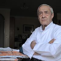Babak Sedighi<br /> Tehran, Iran<br /> <br /> Ahmadreza Ahmadi, Iranian poet and screenwriter, photographed on 24th June 2013.