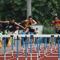 A Division Boys 110m Hurdles
