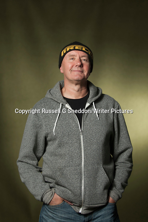 Irvine Welsh at Edinburgh International Book Festival 2014 <br /> 22nd August 2014<br /> <br /> Picture by Russell G Sneddon/Writer Pictures<br /> <br /> WORLD RIGHTS