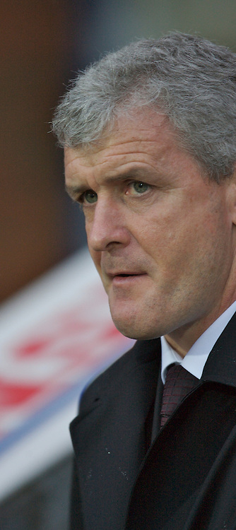 Blackburn, England - Saturday, March 3, 2007: Blackburn Rovers' manager Mark Hughes before the Premiership match against West Ham United at Ewood Park. (Pic by David Rawcliffe/Propaganda)