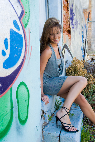 Fashion model shot in Cape Town