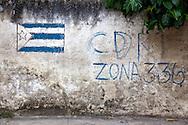 CDR in Holguin, Cuba.