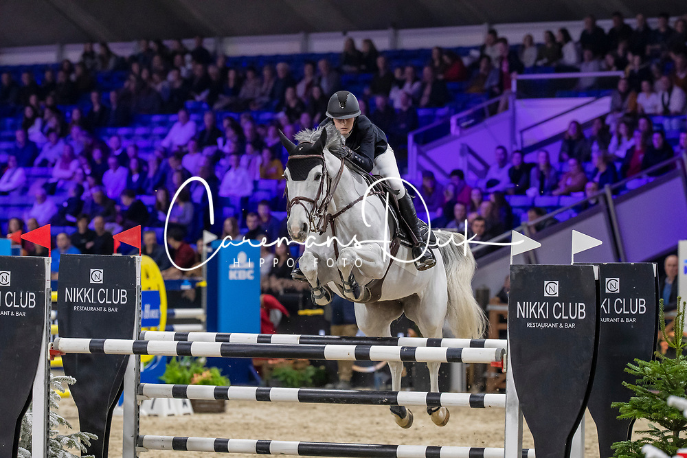 Joassin Louise, BEL, Hermanie<br /> Jumping Mechelen 2019<br /> © FEI/Dirk Caremans<br />  30/12/2019