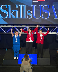 The 2017 SkillsUSA National Leadership and Skills Conference Competition Medalists were announced Friday, June 23, 2017 at Freedom Hall in Louisville. <br /> <br /> Basic Health Care Skills<br /> <br /> Shannon Vasas<br />   High School Shawsheen High School<br />   Gold Billerica, MA<br /> Basic Health Care SkillsMelissa Phelps<br />   High School F Donald Myers Educational Center<br />   Silver Saratoga Springs, NY<br /> Basic Health Care SkillsJesse Newton<br />   High School Dr. James A Forrest Career & Tech Center<br />   Bronze Leonardtown, MD