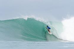 Aug 25, 2018 - Lagundri Bay, Indonesia - Ketut Aditya during Nias Pro in Lagundri Bay, Indonesia. (Credit Image: ? WSL/ZUMA Wire/ZUMAPRESS.com)