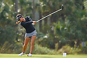 Stephanie Kono during the final round of the LPGA Qualifying Tournament Stage Three at LPGA International in Daytona Beach, Florida on Dec. 6, 2015.<br /> <br /> <br /> ©2015 Scott A. Miller
