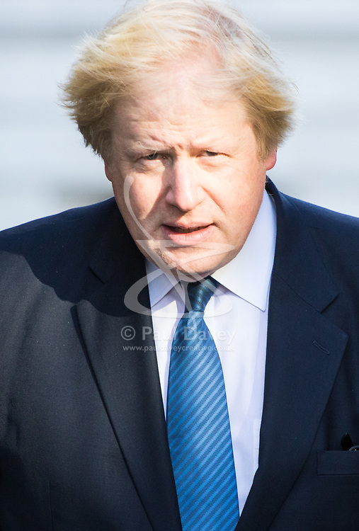 Downing Street, London, March 21st 2017. Foreign and Commonwealth Secretary Boris Johnson attends the weekly cabinet meeting at 10 Downing Street.