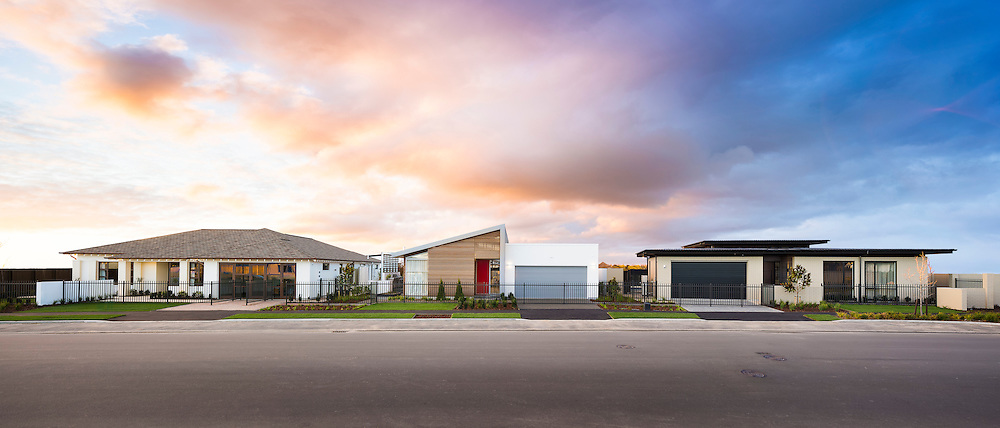 Horncastle Show Homes, Christchurch, New Zealand.