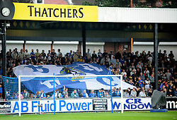 Bristol Rovers fans - Mandatory by-line: Neil Brookman/JMP - 11/08/2016 - FOOTBALL - Memorial Stadium - Bristol, England - Bristol Rovers v Cardiff City - EFL League Cup