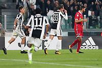 25.10.2017 - Torino - Serie A 2017/18 - 10a giornata  -  Juventus-Spal nella  foto:   Federico Bernardeschi esulta dopo il gol dell' 1 a 0