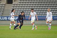 Fotball , 16. oktober 2016 ,<br /> SOCCER : PSG vs LSK - Womens Champions League - 10/13/2016<br />  PSG Paris - Lillestrøm <br /> joie Veronica Boquete (PSG) et Sandy Baltimore (PSG) deception Lene Mykjåland (Lilletrome) et equipe<br /> Norway only