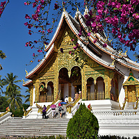 National Museum Formerly Royal Residence in Luang Prabang, Laos<br />