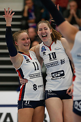 20190131 NED: Semi Final Cup Sliedrecht Sport - Eurosped, Sliedrecht <br />Ana Rekar (11) of Sliedrecht Sport , Carlijn Ghijssen - Jans (10) of Sliedrecht Sport <br />©2019-FotoHoogendoorn.nl / Pim Waslander